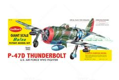 Guillow's - P47D Thunderbolt Balsa Kit image