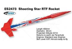 Estes - Shooting Star Rocket Kit B6-4 image