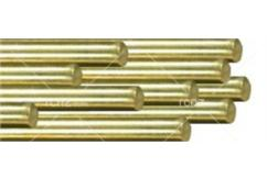 "K&S - Solid Brass Rod .020 x 12"" (5) image"