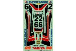 Tamiya - Super Sabre Sticker Set (58066) image
