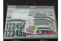 Tamiya - 1/10 Honda NSX Sticker Set (58094) image