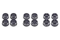 Tamiya - Mini 4WD Carbon Reinforced Low Profile Wheel Set(12 pcs) image
