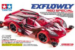 Tamiya - 1/32 Mini 4WD JR Exflowly Red Special image