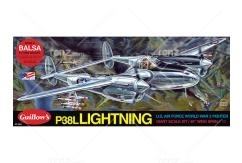 Guillow's - P38L Lightning Balsa Kit image