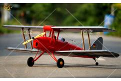 VQ Model - DH-82 Tiger Moth EP/GP 46 Size ARF Kit - Red image