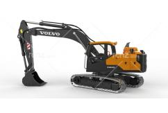 Double Eagle - 1/14 Volvo EC160 Full Metal Hydraulic Excavator RTR image