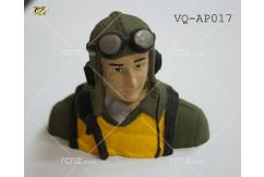 VQ Model - Pilot WWII Military Painted 46 Size image