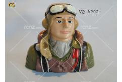 VQ Model - Pilot WWII Painted Allied 46 Size image