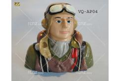 VQ Model - Pilot WWII Painted 60 Size image