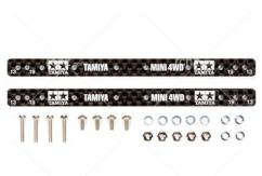 Tamiya - Mini 4WD 1.5mm Carbon Reinforcing Plate For 13/19mm Roller image