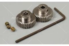 Tamiya - 0.4 Aluminium Pinion (36/7) for 53403 image