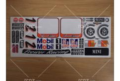 Frewer - 1/10 Mini Sticker Set image