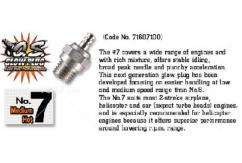 O.S - #7 Glow Plug Medium Heat image