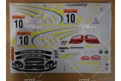 Frewer - 1/10 Subaru Sticker Set image