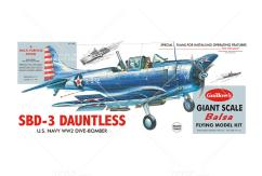 Guillow's - SBD-3 Dauntless Balsa Kit image