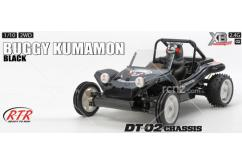 Tamiya - 1/10 Buggy Kumamon Version DT-02 RTR  image