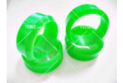 CS Model - 1/10 Hard Plastic Drift Tyre Set Neon Green 26mm image