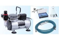 Fengda - Airbrush Set & Heavy Duty Pro Compressor image