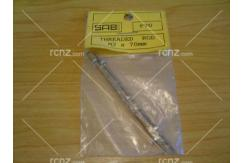 SAB - Brass Rod 70mm M2 Thread 2 Pce image