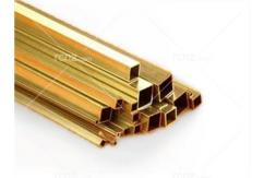 "K&S - Brass Square Tube 5/32 x 12"" (1) image"