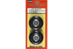 Dubro - 2-3/4 Threaded Light Wheels image