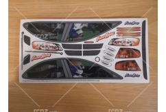 Frewer - 1/10 Racing Driver Sticker Set image