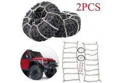 RCNZ - 1/10 Snow Chains for 1.9 Crawler Tyres 114mm image