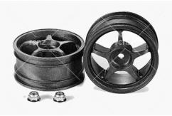 Tamiya - Reinforced One-Piece Spike Wheel (2 pcs) image