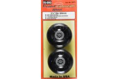 Dubro - 3- 1/4 Threaded Light Wheels image
