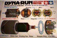Tamiya - Dyna-Run Stock Motor Spring For 532633 image