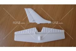 E-Do Model - Cessna 182 Micro Park Flyer Tail Wing Set image