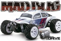 Kyosho - 1/10 4WD Mad Bug VEi T3 Silver Buggy RTR image