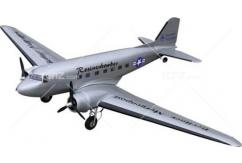 VQ Model - DC-3 EP/GP 25 Size Rosinen Bomber Version ARF image