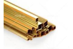 "K&S - Brass Rectangle Tube 1/8 x 1/4 x 12"" (1) image"