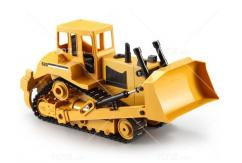 Double Eagle - 1/20 R/C Bulldozer High Tracked with Rippers image