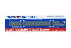 Tamiya - Scale Ruler 1/12 & 1/24 image