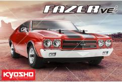 Kyosho - 1/10 Fazer 1970 Chevy Chevelle SS RTR Red image