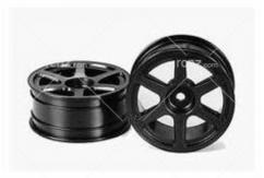 Tamiya - Medium Narrow 6-Sopke Wheel (2) image