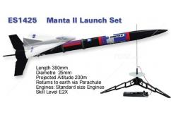 Estes - Manta II Launch Set image