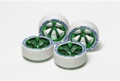 Tamiya - Ltd Edition Tyres & Wheels Fully Cowled Green (4) image