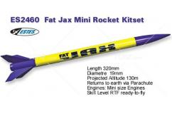 Estes - Fat Jax Rocket Kit 1/2A8-3 image