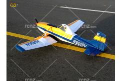 VQ Model - Cessna 188 AGwagon EP/GP 60-90 Size ARF - Blue/Yellow image