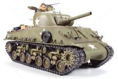 Tamiya - 1/16 M4 Sherman Tank Kit with Full Option Kit image