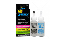 Zap - Z-Poxy 15 Minute Epoxy 4oz (118ml) image