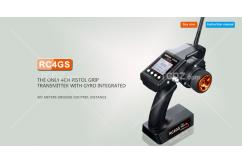RadioLink - RC4GS 4 Channel Pistol Grip 2.4G Transmitter image