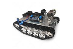 SZDoit - TS100 Intelligent Alloy RC Tank App Controlled 0.3MP Camera image
