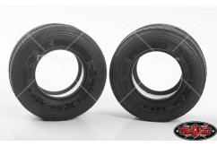 "RC4WD - 1/14 Michelin X ONE® XZU® S 1.7"" Super Single Semi-Truck Tires - Pair image"