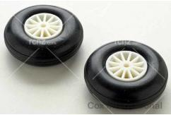"Cox - Landing Gear Wheel Pair 1.5"" (38mm) image"