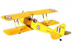VQ Model - DH-82 Tiger Moth EP/GP 46 Size ARF - Yellow image