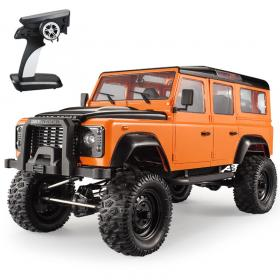 Double Eagle - 1/8 Land Rover Defender D110 Crawler RTR - Orange